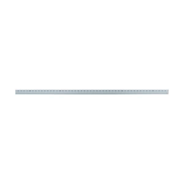 シンワ マシンスケール500mm下段左右振分目盛穴無  『14163』