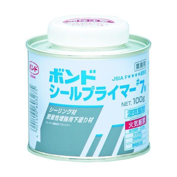 コニシ ボンドシールプライマー#7N 100gハケ付(缶)#60327  『60327』