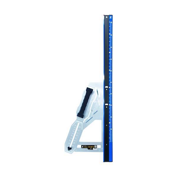 シンワ 丸ノコガイド定規 エルアングル Plus シフト 1m 寸勾配切断機能付  『79054』