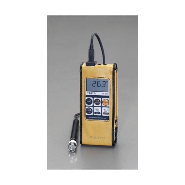 ESCO-30゜/+400℃ 防水型デジタル温度計[EA701SA-20]