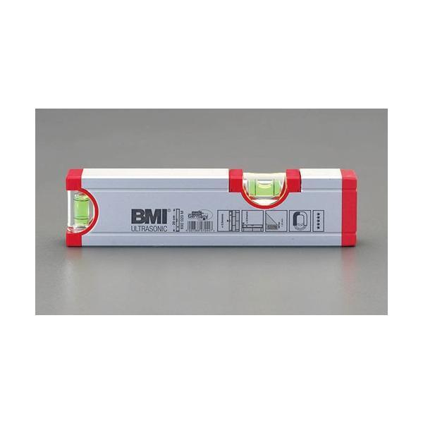 ESCO200mm アルミ水平器(マグネット付)[EA735-20M]