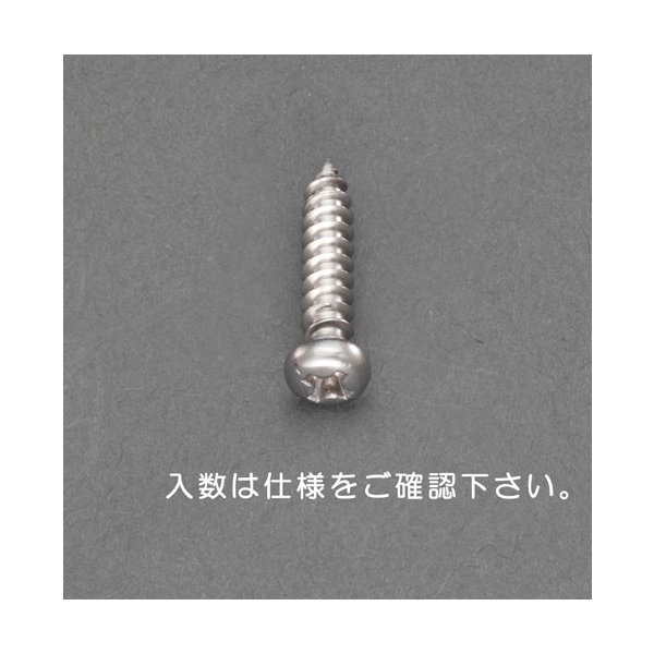 ESCOM3 x  5mm  鍋頭タッピングビス(ステンレス製/40本)[EA949AL-109]