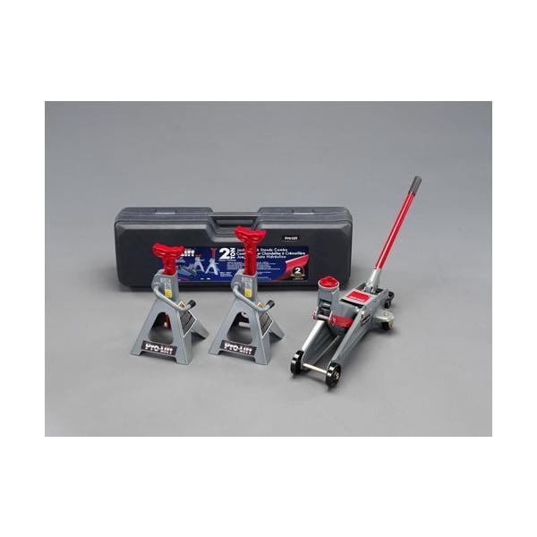 ESCO2.0ton ガレージジャッキ&スタンドセット[EA993LD-200]