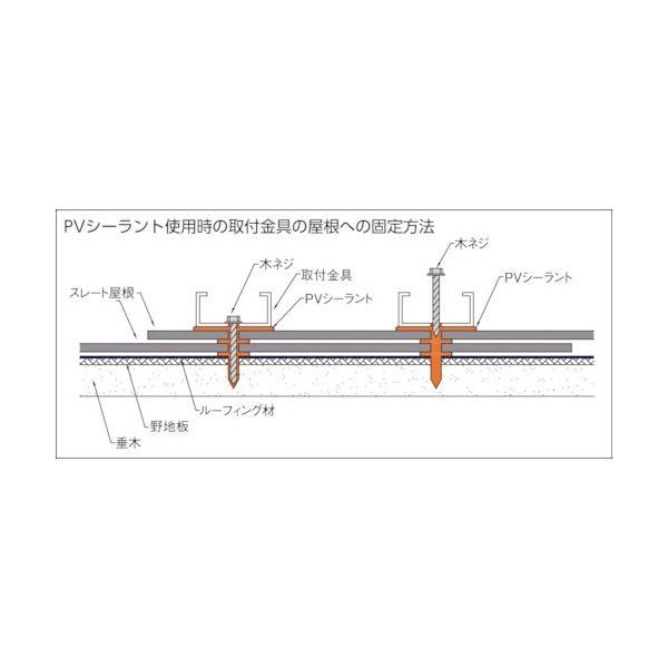 信越ポリマー PVシーラント 330ml 黒  『PVSBK』|goodjobtools|02