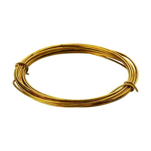 TRUSCO 真鍮線 線径0.90mmx約5m  『TBW20』