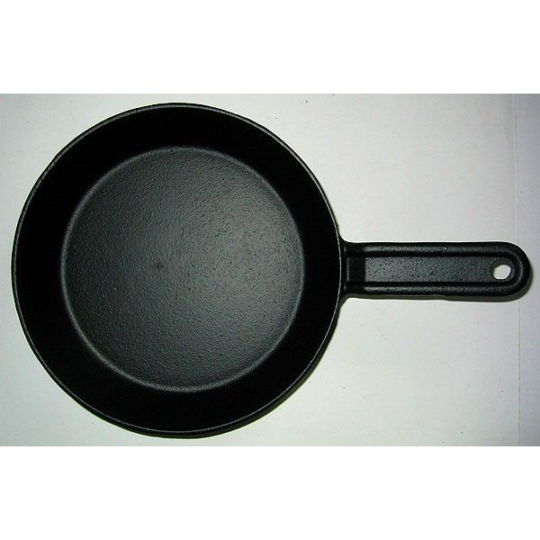 キャッシュレス還元対象 鉄鋳物 IH対応 鉄製フライパン 21cm|goodlifeshop|02