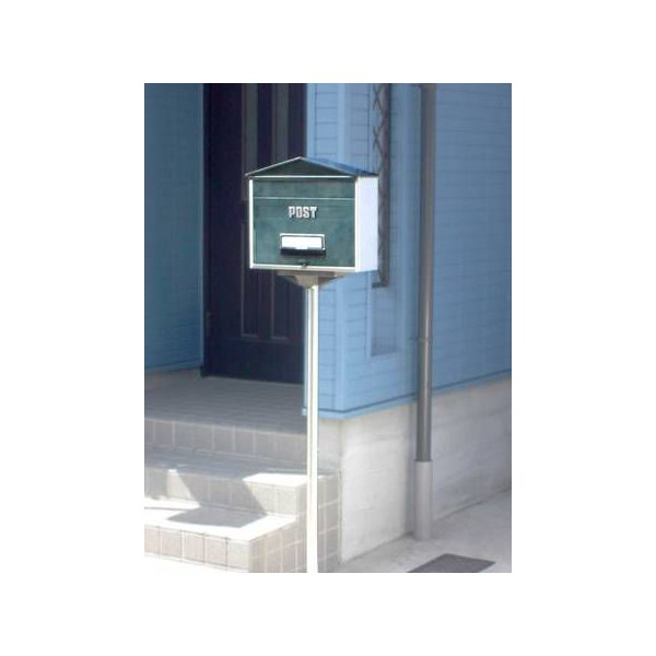 ステンレス製 郵便ポストスタンドポール SP−NE型(埋込式)(※ポスト本体は含まれません)|goodlifeshop