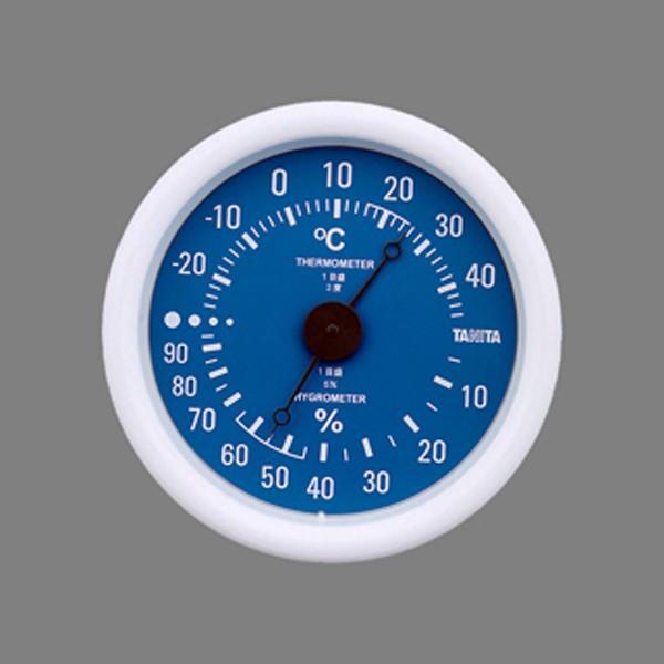 TANITA タニタ 温度計 温湿度計 TT-515 ブルー  TT-515-BL
