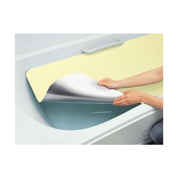 浴槽サイズに合わせて自由にカットOK!新・アルミ保温シート Lサイズ