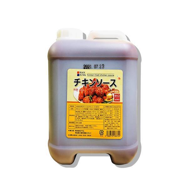 韓国食品 韓国風味付け チキンソース 10kg(甘口)(4683)