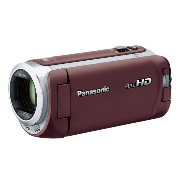 Panasonic HC-W590M-T デジタルハイビジョンビデオカメラ ブラウン