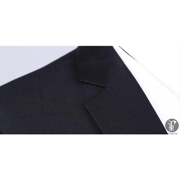 メンズ スーツ 上下セット セットアップ 2つボタン フォーマル 紳士服 就活 面接 通勤 出張 セレモニー リクルート テーラード ジャケット goodplus 06