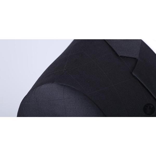メンズ スーツ 上下セット セットアップ 2つボタン フォーマル 紳士服 就活 面接 通勤 出張 セレモニー リクルート テーラード ジャケット goodplus 07
