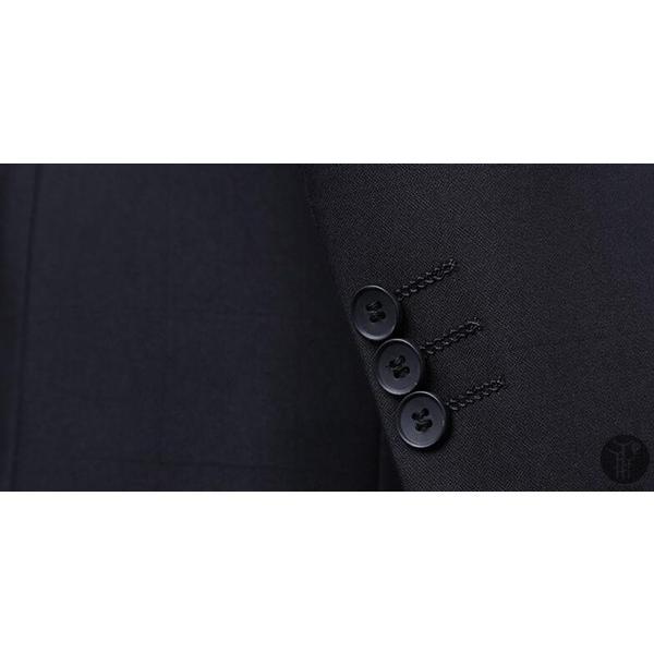 メンズ スーツ 上下セット セットアップ 2つボタン フォーマル 紳士服 就活 面接 通勤 出張 セレモニー リクルート テーラード ジャケット goodplus 09