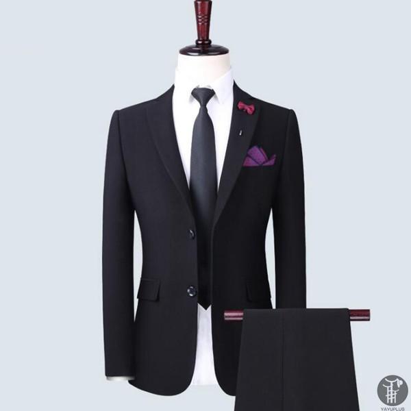 メンズ スーツ 上下セット 2つボタン 紳士服 フォーマル セレモニー ジャケット パンツ スラックス セットアップ テーラード 出張 就活 面接 通勤|goodplus