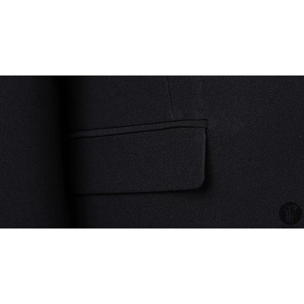 メンズ スーツ 上下セット 2つボタン 紳士服 フォーマル セレモニー ジャケット パンツ スラックス セットアップ テーラード 出張 就活 面接 通勤|goodplus|06
