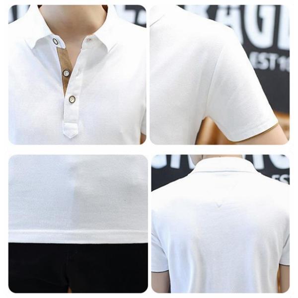 ポロシャツ 半袖 メンズ 無地  ポロ シャツ カジュアルシャツ 制服 ユニフォーム クールビズ ゴルフ ビジネス 代引不可|goodplus|11