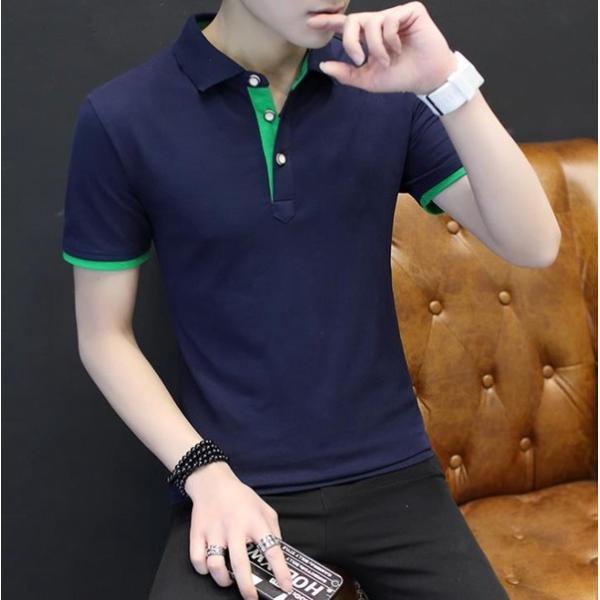 ポロシャツ 半袖 メンズ 無地  ポロ シャツ カジュアルシャツ 制服 ユニフォーム クールビズ ゴルフ ビジネス 代引不可|goodplus|05
