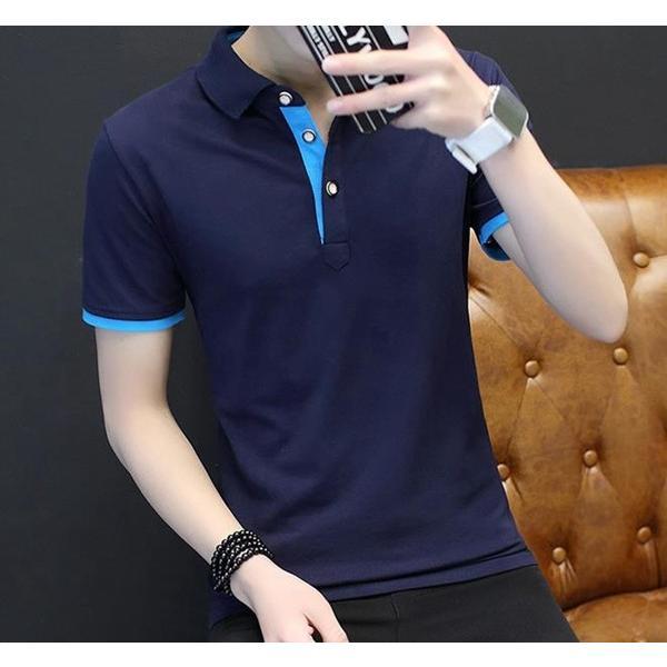 ポロシャツ 半袖 メンズ 無地  ポロ シャツ カジュアルシャツ 制服 ユニフォーム クールビズ ゴルフ ビジネス 代引不可|goodplus|09