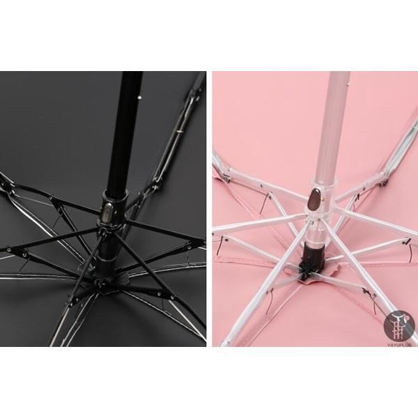 折りたたみ傘 メンズ レディース かわいい 軽量 日傘 晴雨兼用 遮光 遮熱 耐風 軽量 uvカット 紫外線 ミニ傘 携帯用 アンブレラ 6本骨 代引不可|goodplus|06