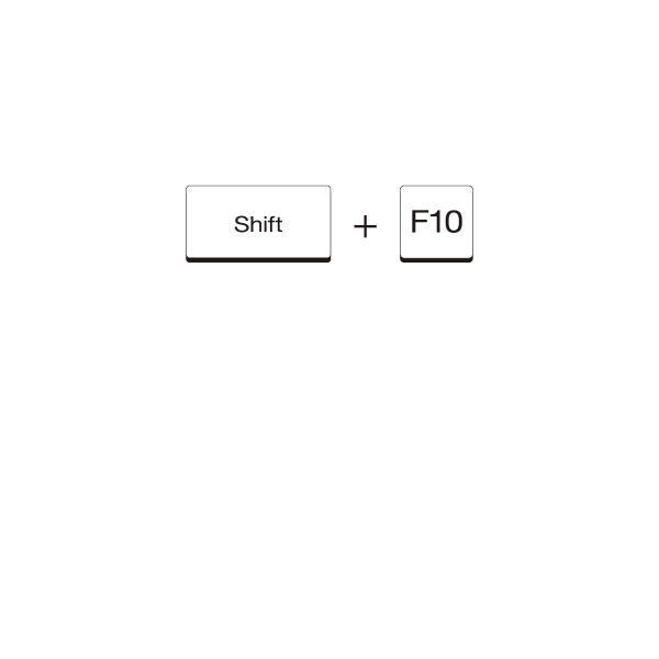 Tシャツ Shift+F10|goods-pro|02