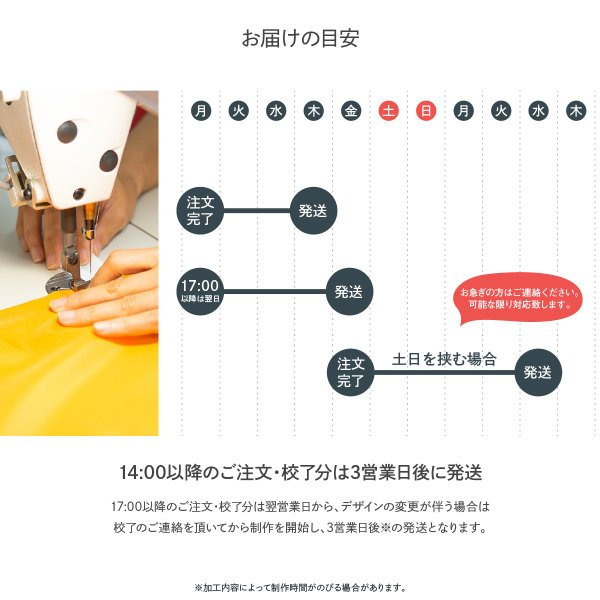 のぼり旗 頭上注意|goods-pro|11