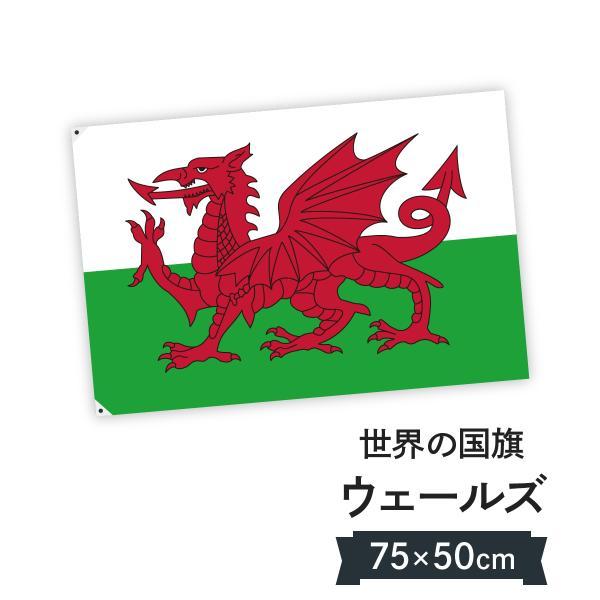 ウェールズ 国旗 W75cm H50cm