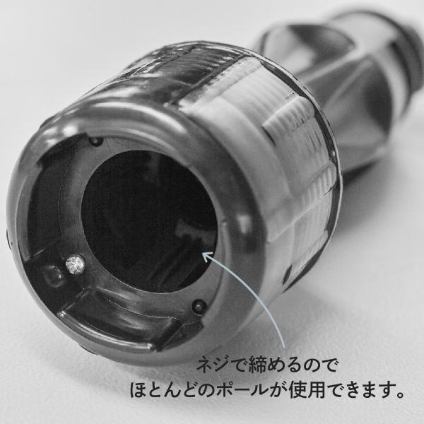 「黒」 のぼりポールスタンド 16L 注水台角型 黒|goods-pro|04