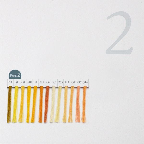 シャッペスパン ミシン糸 60番 黄色 200m Part1|goods-pro|03