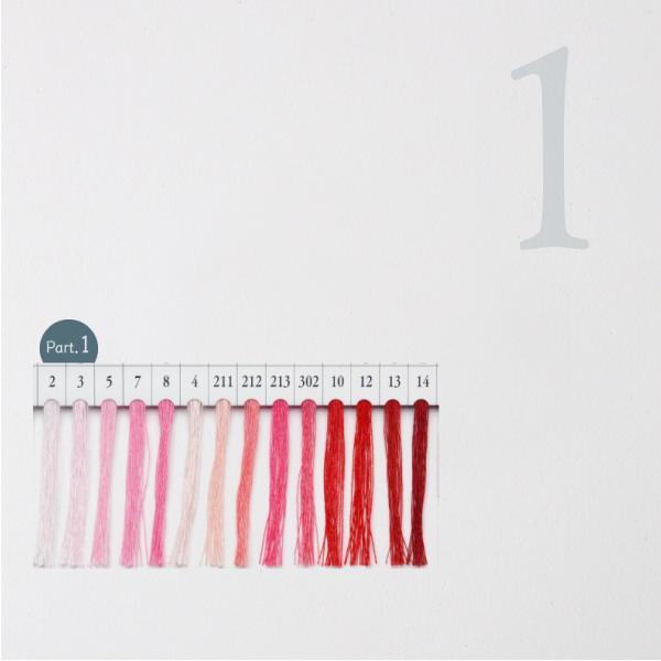 シャッペスパン ミシン糸 #60 60番 ピンク レッド/赤 200m Part1|goods-pro|02