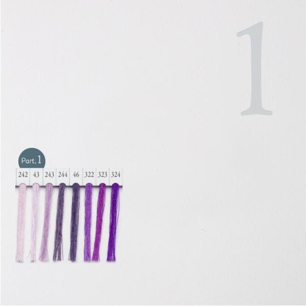 シャッペスパン ミシン糸 60番 紫色 200m Part1|goods-pro|02