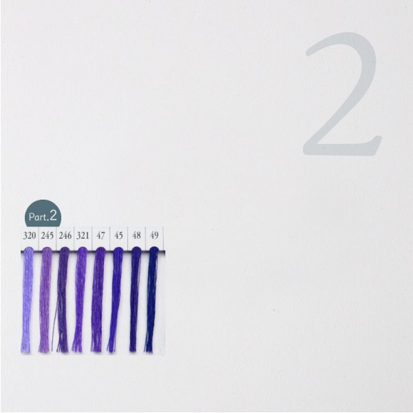 シャッペスパン ミシン糸 60番 紫色 200m Part1|goods-pro|03
