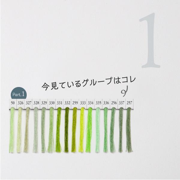 シャッペスパン ミシン糸 60番 緑色 200m Part1|goods-pro|02