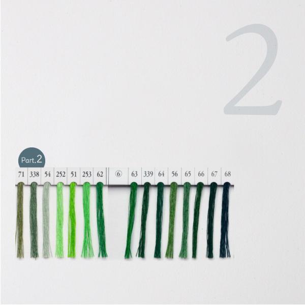 シャッペスパン ミシン糸 60番 緑色 200m Part1|goods-pro|03