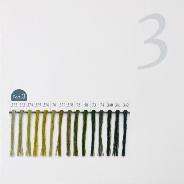 シャッペスパン ミシン糸 60番 緑色 200m Part1|goods-pro|04