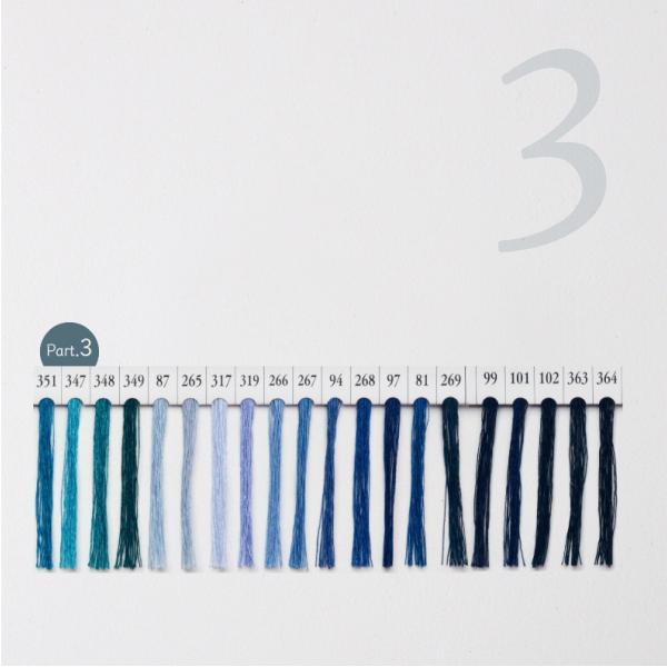 シャッペスパン ミシン糸 60番 青色 200m Part1|goods-pro|04