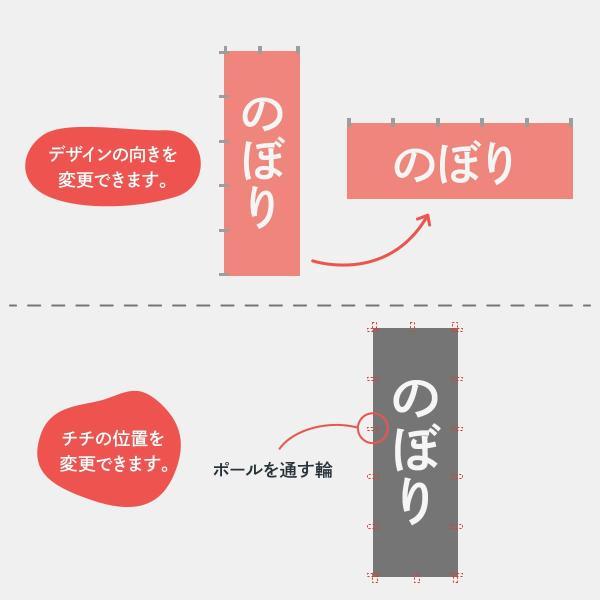文字だけオリジナルのぼり旗4枚 goods-pro 08