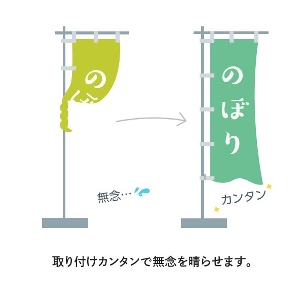パイブラ のぼりの巻きつき防止 goods-pro 03