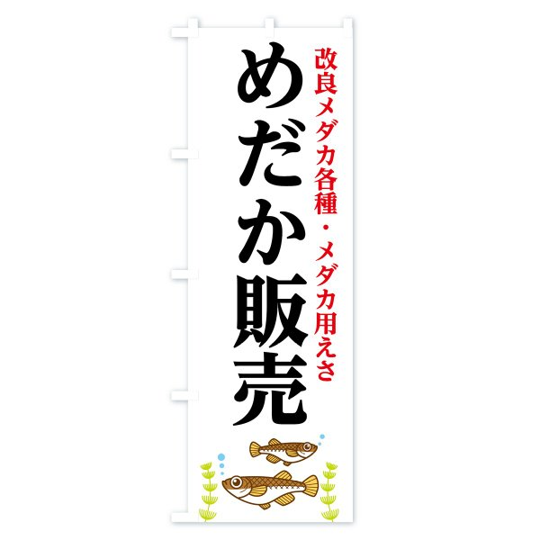 のぼり旗 めだか販売|goods-pro|02