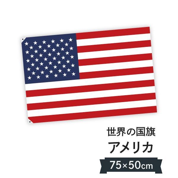 アメリカ合衆国 国旗 W75cm H50cm