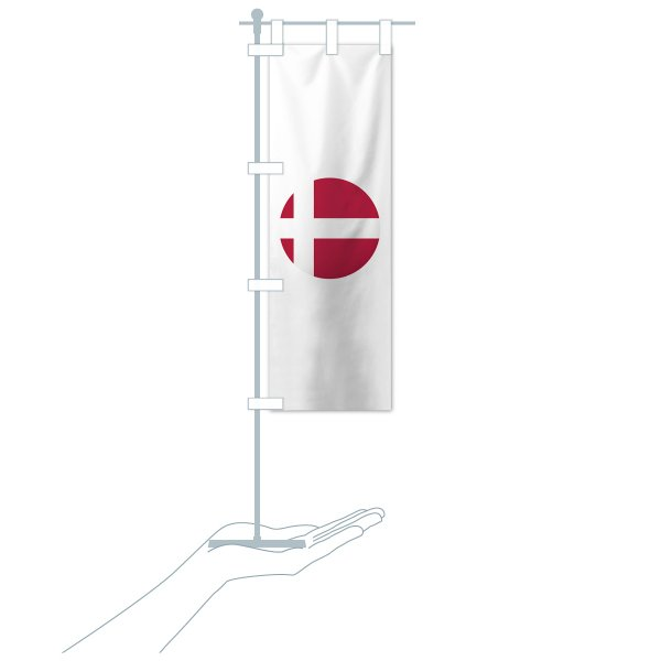 のぼり旗 デンマーク国旗 goods-pro 20