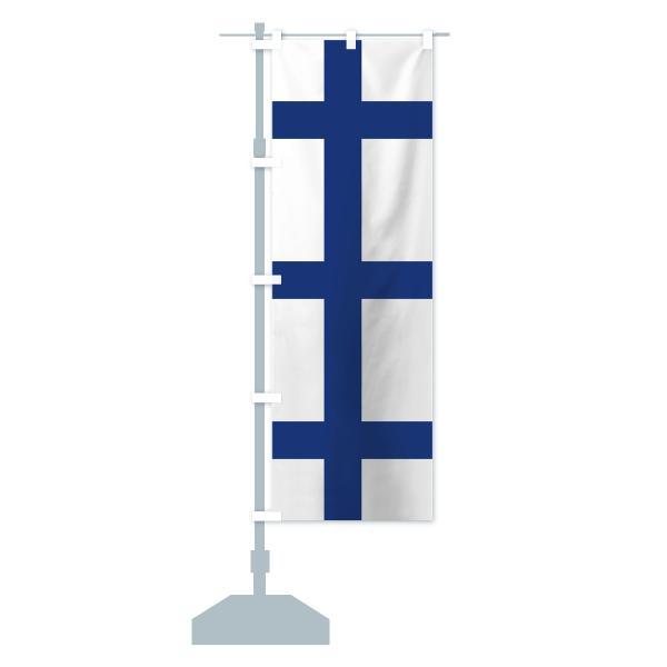 のぼり旗 フィンランド国旗|goods-pro|15