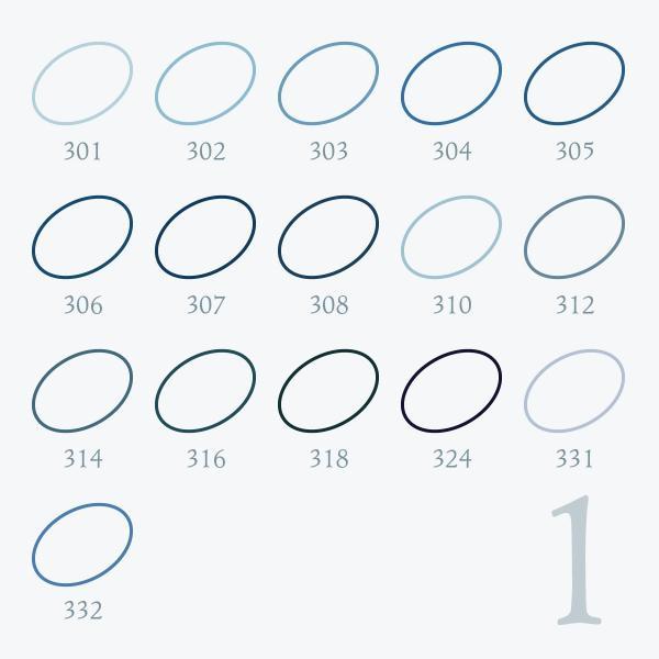 刺しゅう糸 25番 青系 オリムパス Part1|goods-pro|02