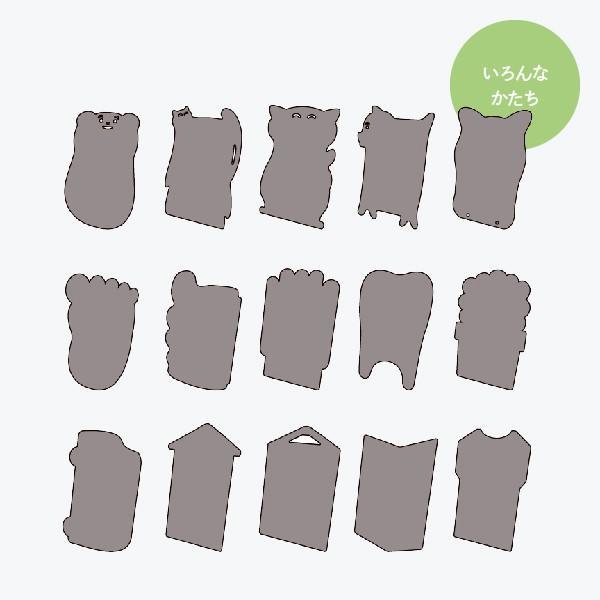 おしゃれな立て看板 うなぎ形 ブラックボード|goods-pro|07