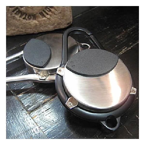 カラビナ 携帯灰皿 アッシュトレイ キーホルダー 灰皿