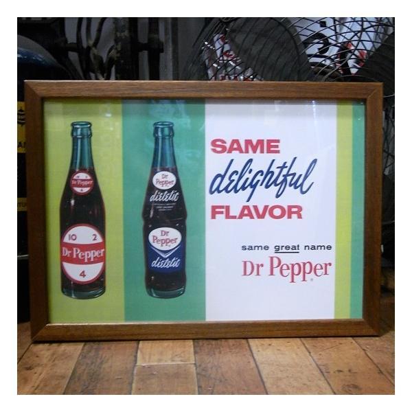 ドクターペッパー Dr Pepper インテリアピクチャー ポスター フレーム