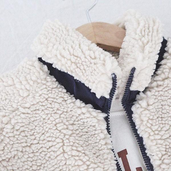 ボア アウター レディース ブルゾン  ジャケット  ジャンパー 羽織り 長袖 防寒 ボアブルゾン 秋 冬 宅配便送料別|goodstown|09