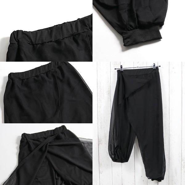 リゾートエキゾチックワイドパンツ ジョガーパンツ フレアパンツ スカート ガウチョ スカーチョメール便のみ送料無料2♪5月20日から31日入荷予定|goodstown|12