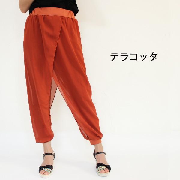 リゾートエキゾチックワイドパンツ ジョガーパンツ フレアパンツ スカート ガウチョ スカーチョメール便のみ送料無料2♪5月20日から31日入荷予定|goodstown|13
