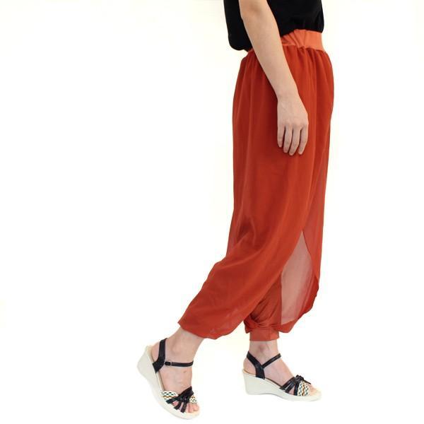 リゾートエキゾチックワイドパンツ ジョガーパンツ フレアパンツ スカート ガウチョ スカーチョメール便のみ送料無料2♪5月20日から31日入荷予定|goodstown|14